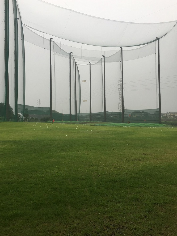 霧雨の早朝練習