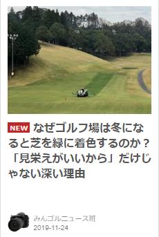 冬の芝でなぜ青い?
